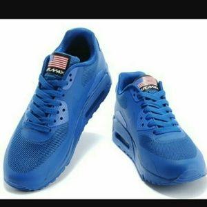 super popular 60722 dc4a7 ... clearance nike shoes sale nwt nike air max 90 hyperfuse blue 7m ed13d  d92b6